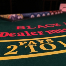 Black Jack pays 2 to 1